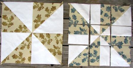 disappearing pinwheel basic 1/3 cut